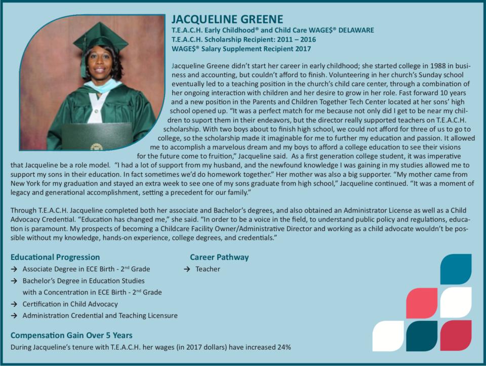 Jacqueline Greene Profile