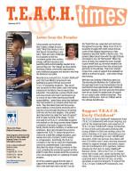 TEACH Times Summer 2015